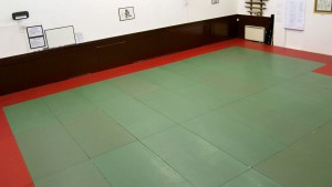 Right view of dojo