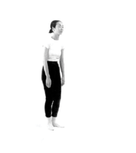 Slouched posture