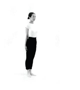 Tense posture